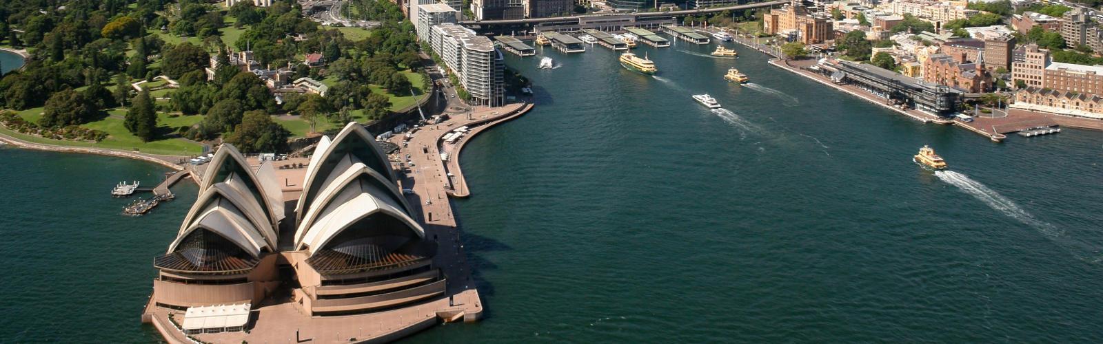 Sydney in August