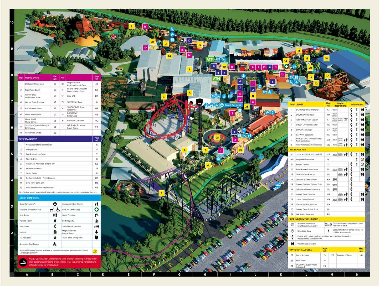 Movie World Map