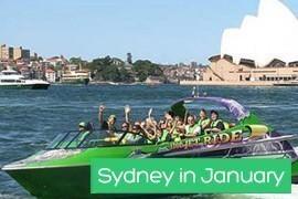 January in Sydney