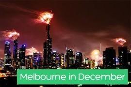 Melbourne in December
