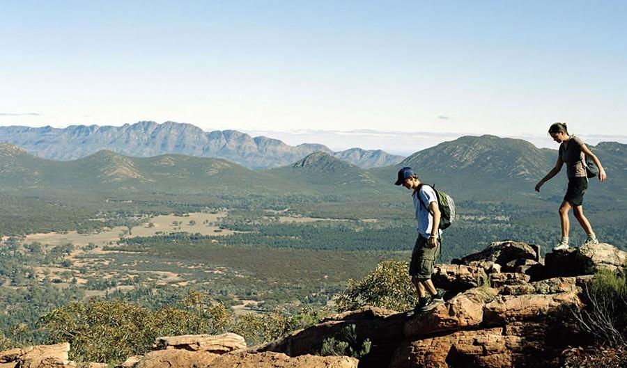 Top 10 epic walks and hikes in Australia Flinders Ranges South Australia