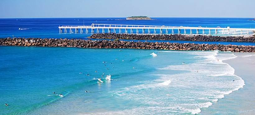 Duranbah Beach Gold Coast