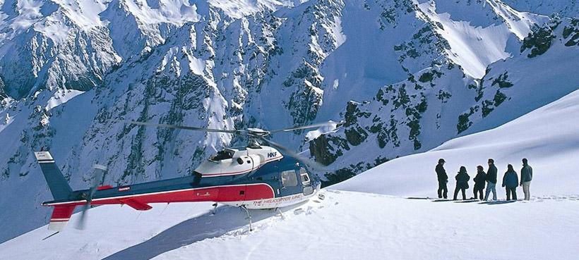 Mt Cook Scenic Flights New Zealand