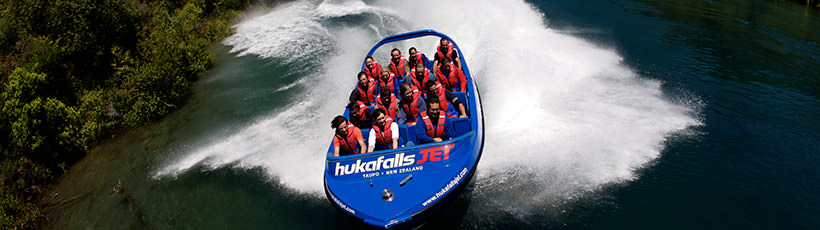 Huka Falls and Jet Boating
