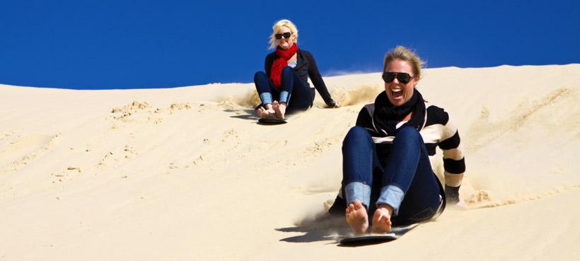Port Stephens Sandboarding