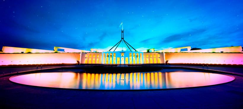 Canberra in June