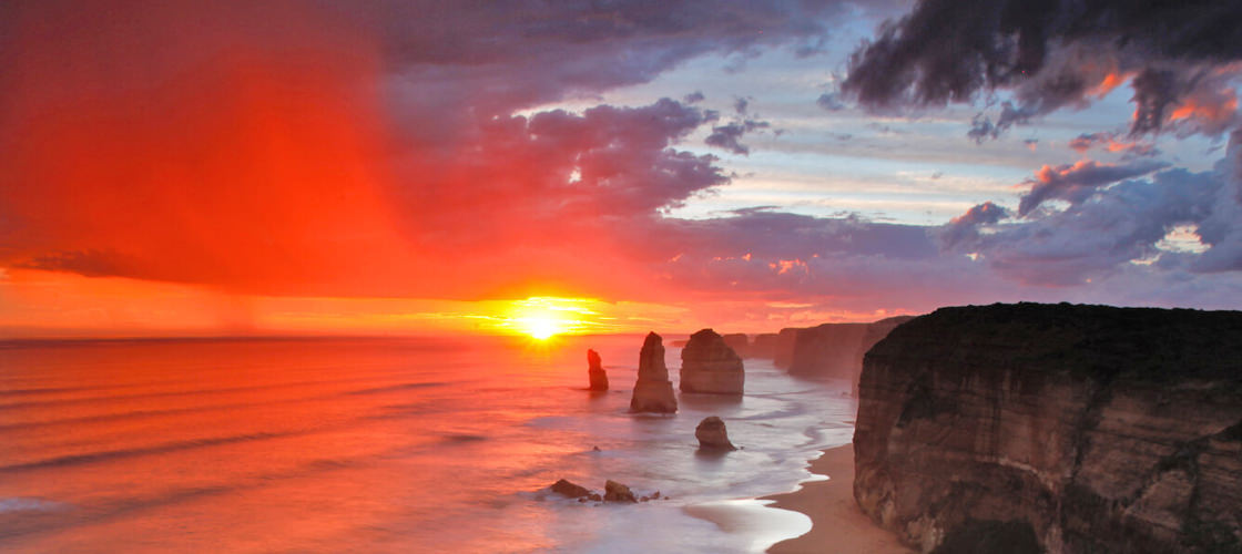 Top 10 Australian Sunsets Great Ocean Road Victoria