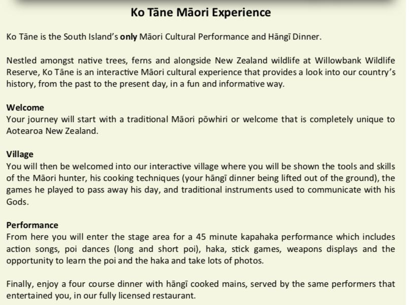 Willowbank Wildlife Reserve Maori Performance & Hangi | Experience Oz