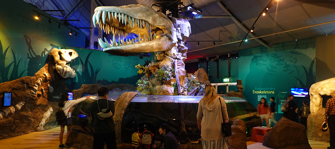 Sydney SEA LIFE Dinosaur displays