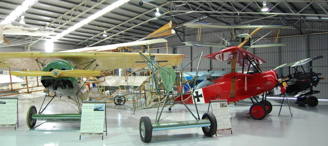 The Australian Vintage Aviation Society Museum