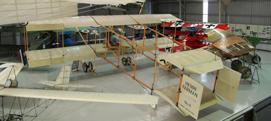 The Australian Vintage Aviation Society aircrafts
