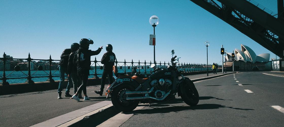 Motorbike Tour Sydney City