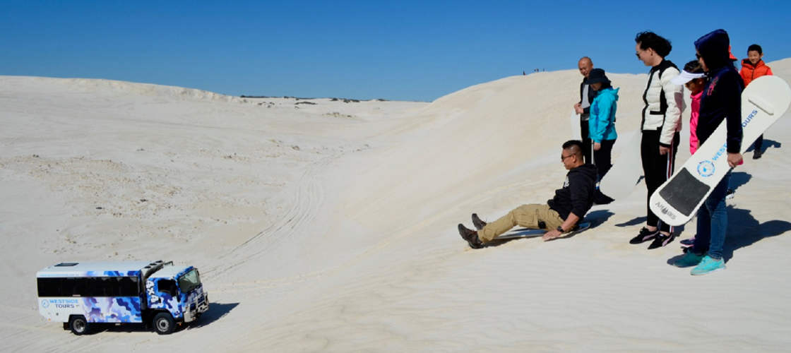 Lancelin 4WD Sandboarding Adventure - Book Now | Experience Oz + NZ