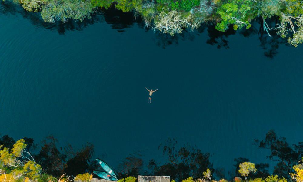 Noosa swimming everglades