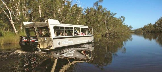Noosa Everglades BBQ Lunch and Afternoon Cruises