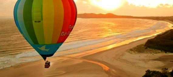 Gift a hot air balloon ride in Byron Bay