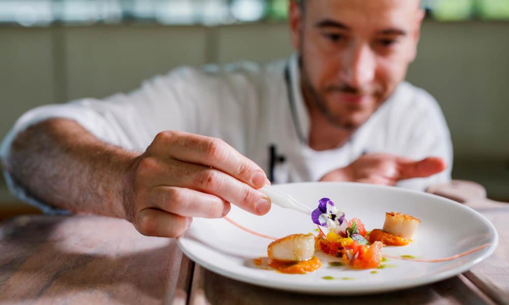 chef preparing