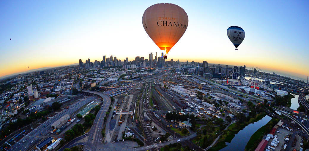 Melbourne Hor air balloon flight