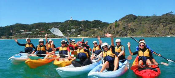 Sea Kayaking Byron Bay