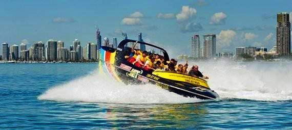 Jet Boating on the Gold Coast