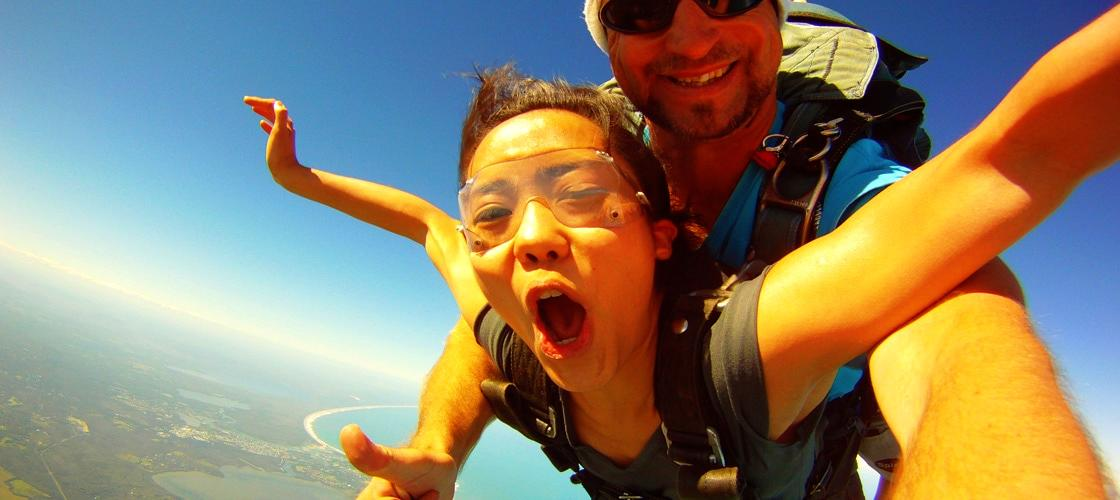 Skydiving Coolum