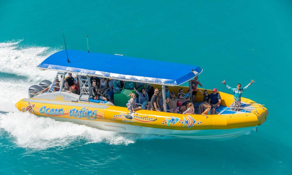 Ocean Rafting speed boat
