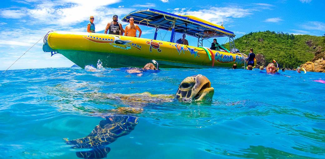 High-speed Adventure with Ocean Rafting