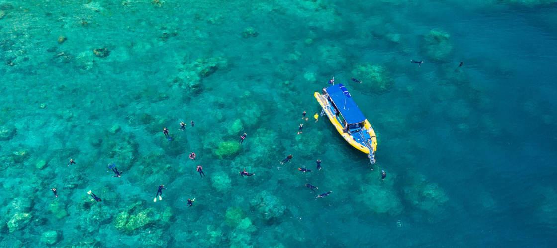 ocean rafting whitsundays tour