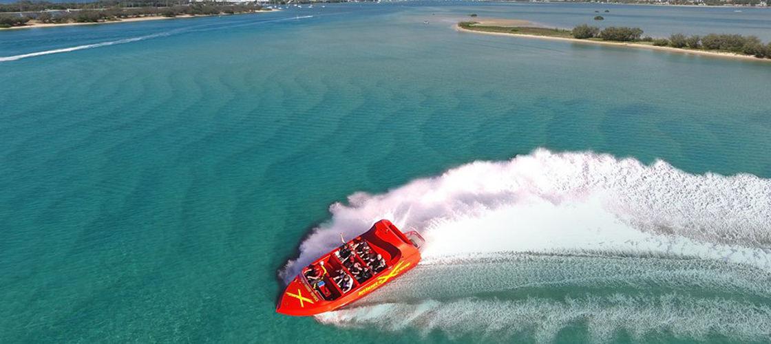 gold coast jetboat extreme surfers paradise jet boat ride