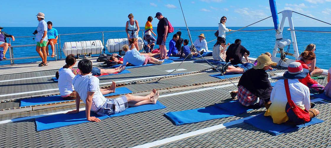 Ocean Spirit people on boat