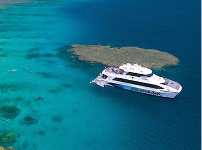 Great Barrier Reef Cruise to 3 Locations