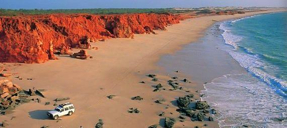 Cape Leveque 4WD Tour with Optional Return Flight to Broome
