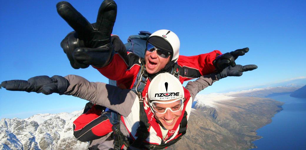NZone Tandem Skydive, Queenstown