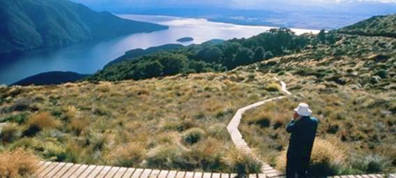 Walk the Kepler Track in Fiordland National Park