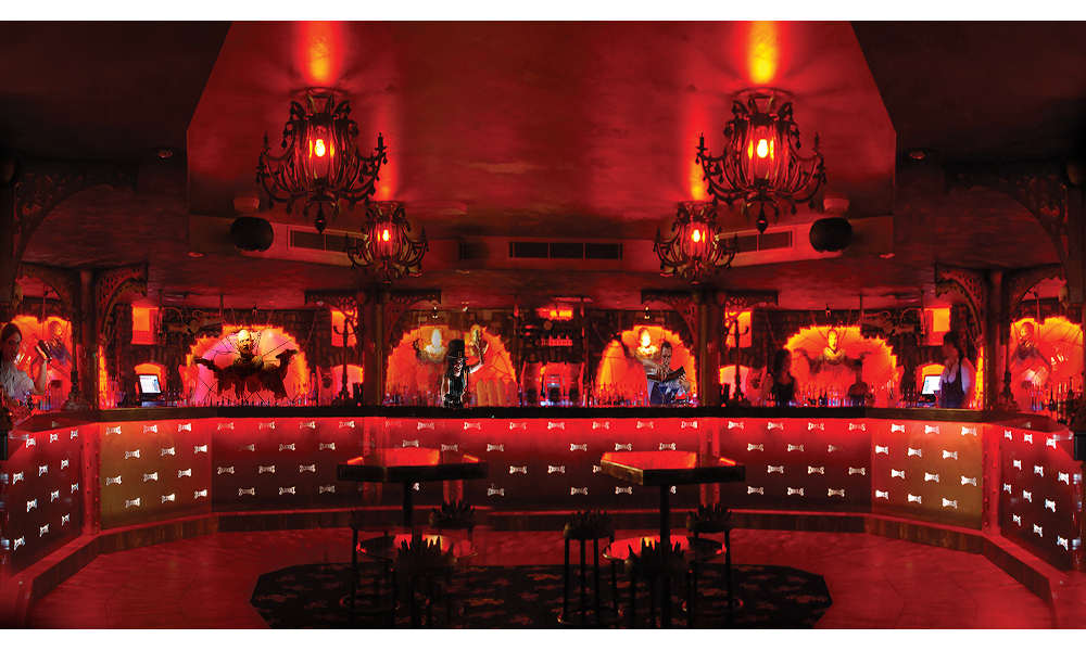 Dracula's Cabaret Dinner and show bar