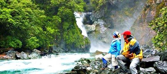 Take on one of the best walks in the country, the Hollyford Track