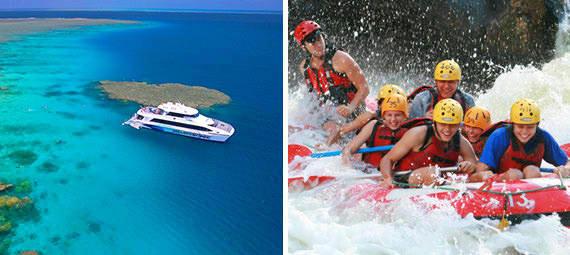 Reef and Rafting Package