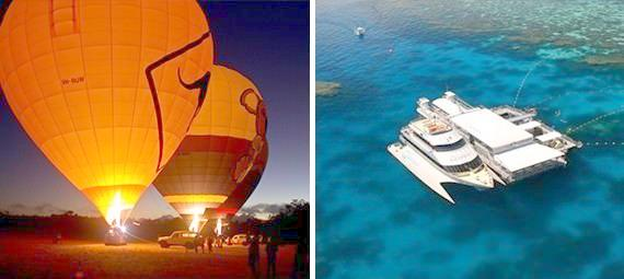 Reef Cruise and Ballooning Package