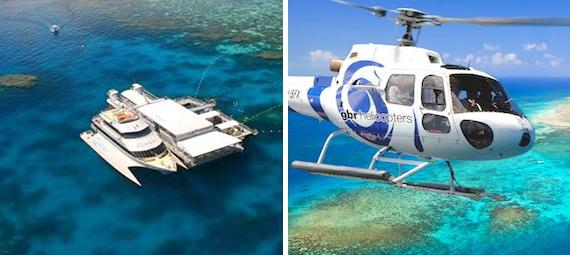 Reef Cruise and Helicopter Combo