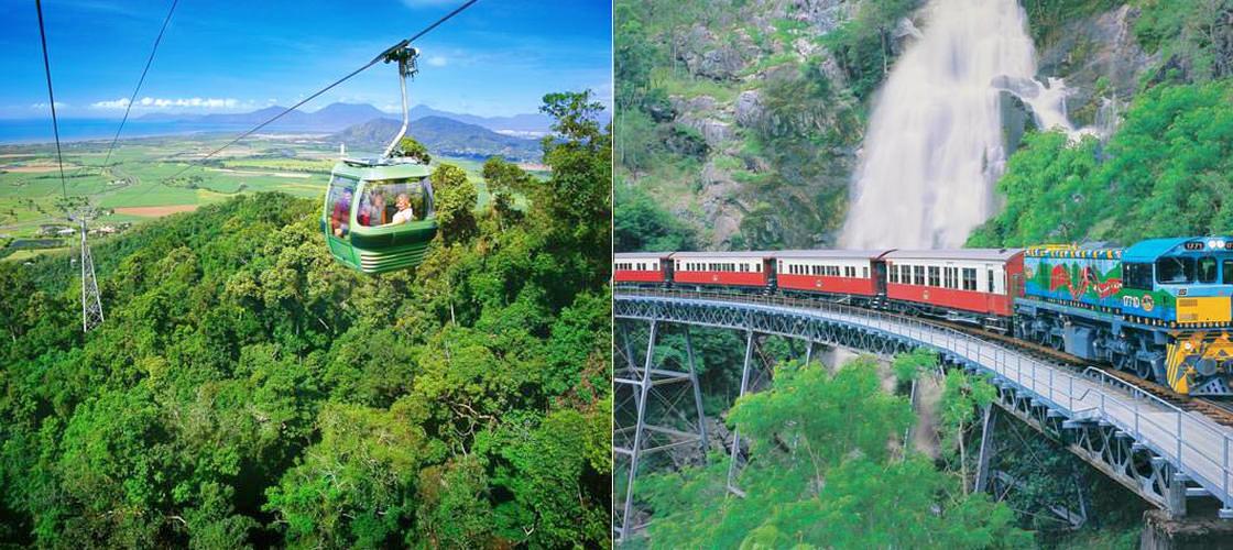 Kuranda Scenic Railway and Skyrail Day Tour