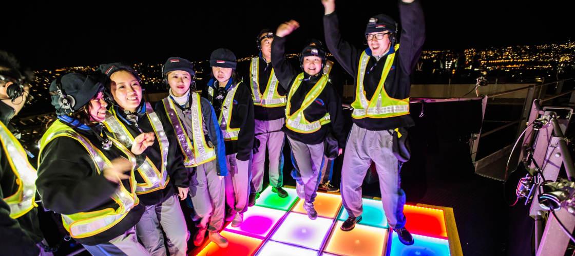 vivid festival sydney bridgeclimb