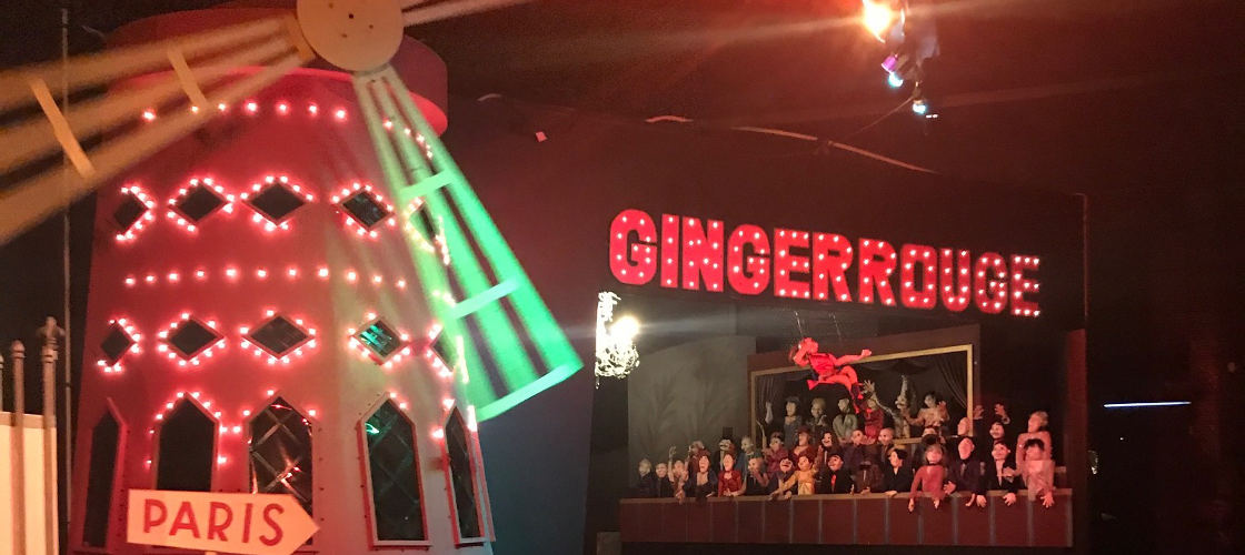 The Ginger Factory Ride