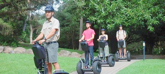 Currumbin Wildlife Sanctuary segway gift voucher