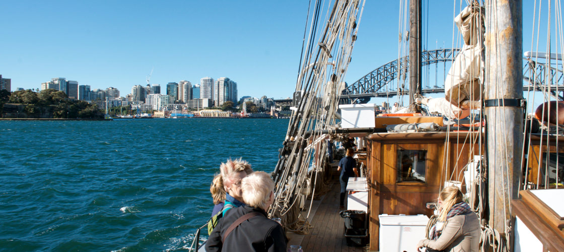 Sydney Harbour Tall Ships Review