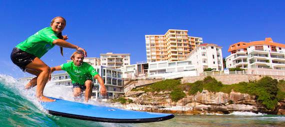 Bondi Beach Learn to Surf
