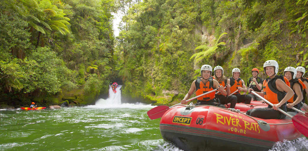 Kaiktuna River Rafting