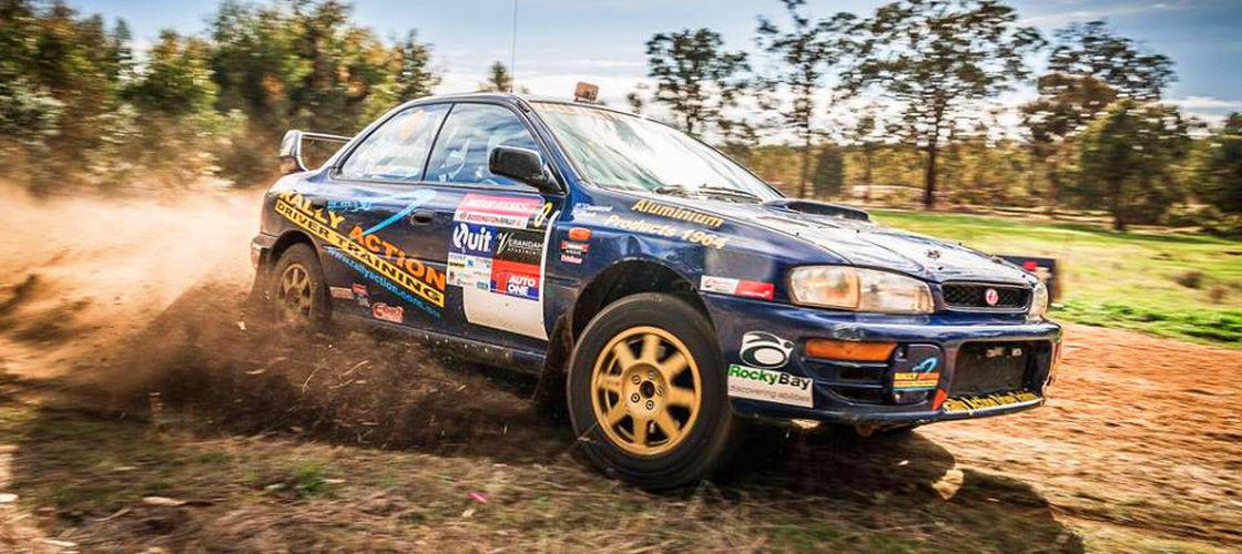 Perth Rally Driving Experience Gift Certificates | Gift It Now
