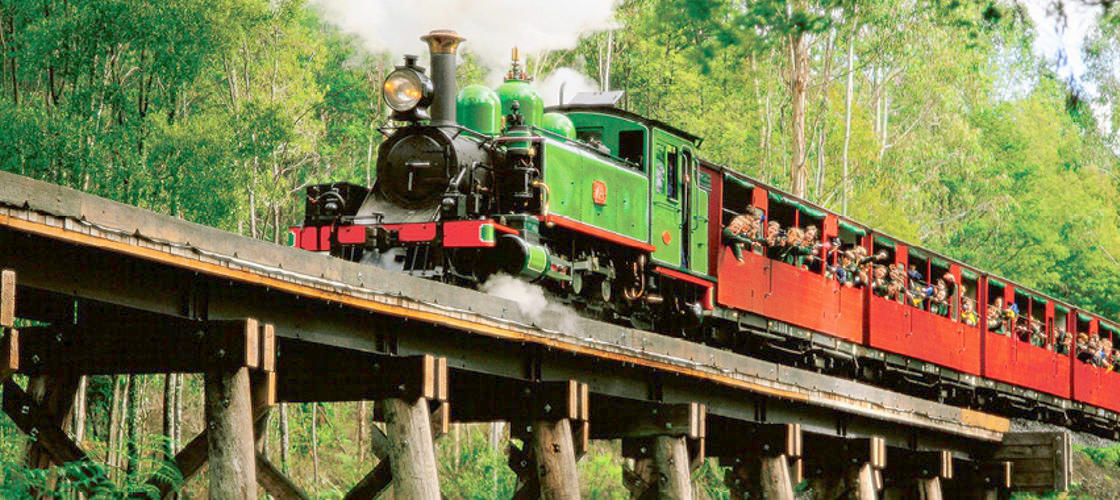 AAT Kings Puffing Billy Tours