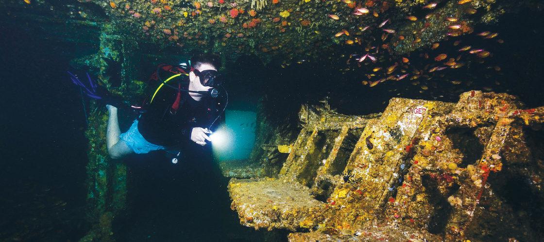 SCUBA Diving Ex HMAS