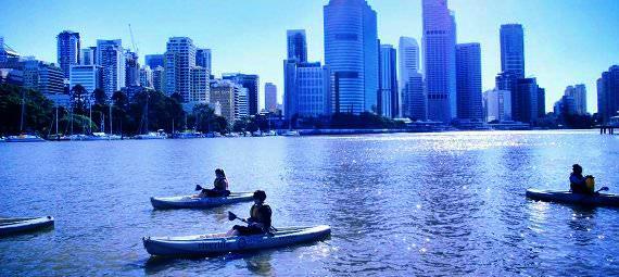 Brisbane Kayaking with Optional Dinner